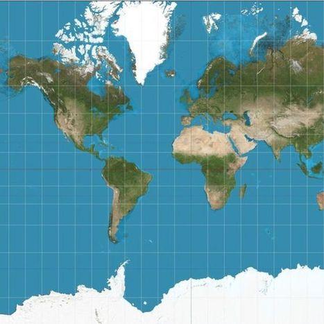 El extraordinario mapa que muestra al mundo como es realmente - BBC Mundo | Croquis et Schémas pour la Première et la Terminale | Scoop.it