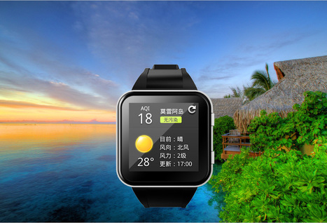 iWatch?The smart watch is here already and is chinese! | startups | Scoop.it