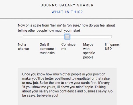 How much do you make? A CUNY grad student is collecting data on salaries in journalism | New Journalism | Scoop.it