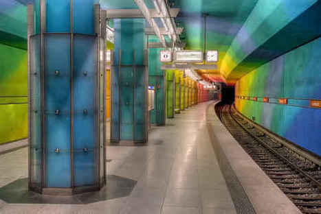 The Coolest Subway Stations In The World | Modern Ruins, Decay and Urban Exploration | Scoop.it