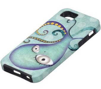 Quirky Octopus iPhone 5 Case   Gotta Buy It!   Best iPhone 5 Cases   Scoop.it