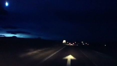 'Bright flash' seen in skies over Scotland - BBC News   space and aerospace   Scoop.it