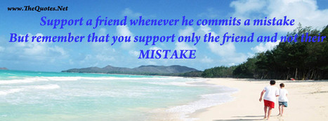 Facebook Cover Image - Images in 'Friendship' Tag - TheQuotes.Net | Facebook Cover Photos | Scoop.it