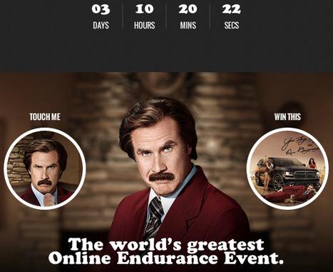 'Hands On Ron Burgundy' Mobile Game Promotes Dodge Durango, Anchorman 2 Movie   International Auto Market Insights   Scoop.it