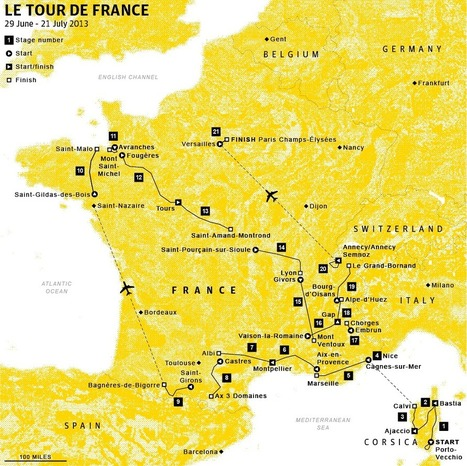 Tour de France preview: stage 19 - The Guardian | French Evangelical News | Scoop.it