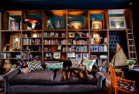 Bespoke home libraries are still a luxury amidst the digital age - The Sybarite - Experience Luxury | Digital Collaboration and the 21st C. | Scoop.it