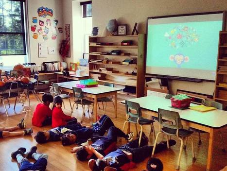 Rotherglen School in Canada starting the day with a Peace Out! | Cosmic Kids Around The World! | Scoop.it