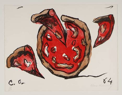 'Pizza Pie', Claes Oldenburg | Tate | Art and Textiles in Education | Scoop.it