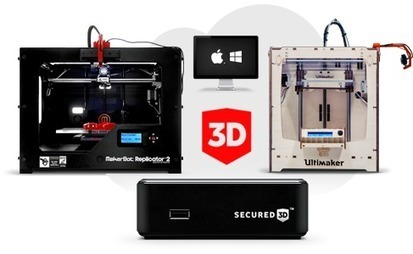 Secured 3D Printer security and copyright protection | Technology and Consumer | Scoop.it