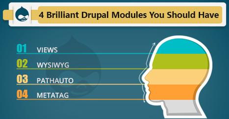 4 Brilliant Drupal Modules You Should Have   Digital Marketing   Scoop.it