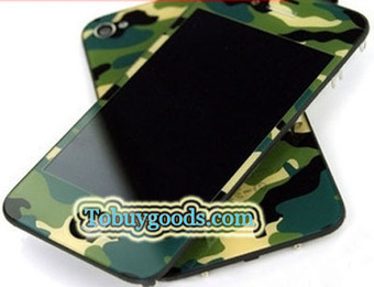 iPhone 4S Camouflage Pattern Conversion Kits LCD Assembly Repair Parts - Green With Logo (4S Only)   here are some good goods form tobuygoods   Scoop.it