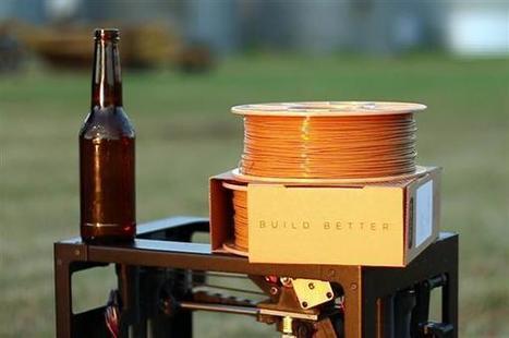 Buzzed : un matériau pour imprimante 3D à base de bière ! | Eco-conception | Scoop.it