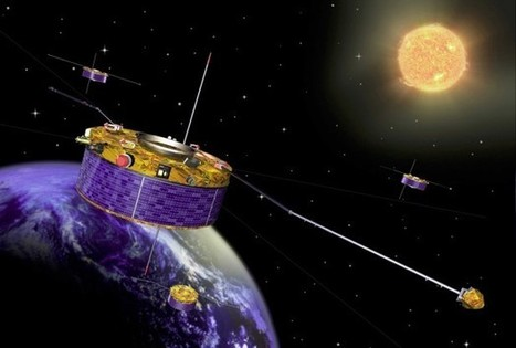 Cluster Data Shows Intriguing Links Between Plasmasphere And Van Allen Belts - RedOrbit | Satellite Communications | Scoop.it