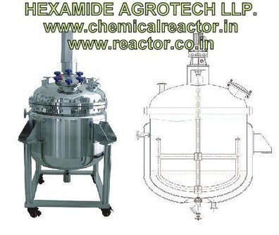 Reactor Kettles Manufacturer in India | Chemical Reaction Kettles - HEXAMIDE AGROTECH LLP | SS 316 ,304 CHEMICAL REACTOR MFG INDIA | Scoop.it