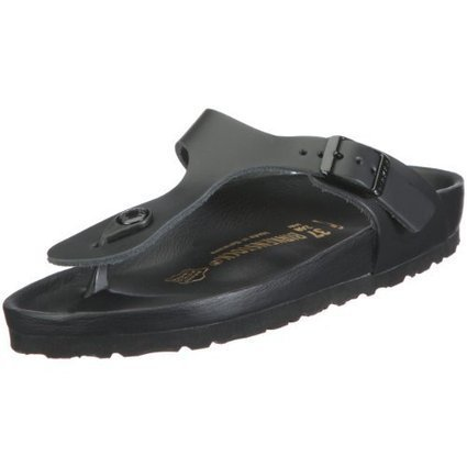 @1@   Birkenstock Gizeh 43861, Unisex – Erwachsene Sandalen/Zehentrenner aus Naturleder, Schwarz (Schwarz), EU 38 (normal) | Birkenstock Online Shop | Scoop.it
