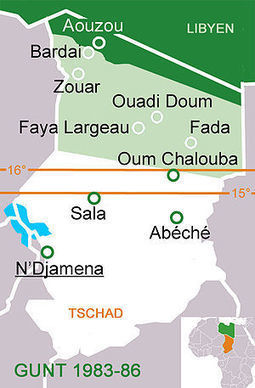 Chadian–Libyan conflict - Wikipedia, the free encyclopedia | News from Libya | Scoop.it