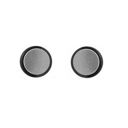 Buy Silver Tone Illusion Tunnel Plug Men Unisex Magnetic Steel ...   Tunnel Shop   Scoop.it