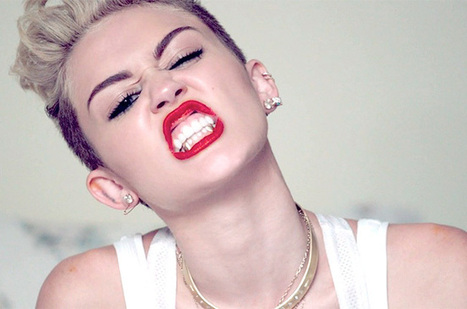 Miley Cyrus' 'We Can't Stop' Video Is Completely Insane: Watch | everything | Scoop.it