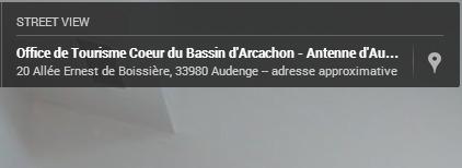 Visite virtuelle de l'office de tourisme Coeur de Bassin à Audenge | Accueil numérique dans les offices de tourisme | Scoop.it