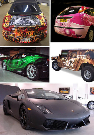 Art of Speed: 30 Brilliant Vinyl Car Wrap Designs & Decals   WebUrbanist   The Best Photo Printing Contractor in Atlanta   Scoop.it