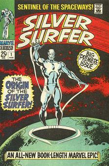 HEROS & Super / Marvel : le Surfer d'argent sur la vague ... | Héroïques ? | Scoop.it