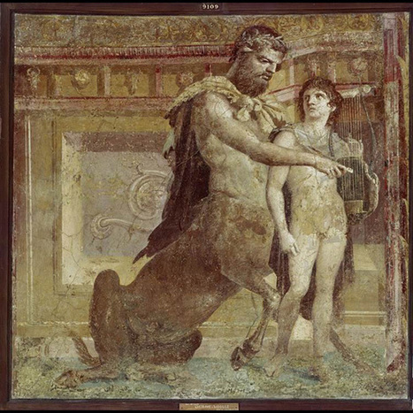 Gods and mythological creatures in The Iliad in ancient art | OUPblog | Humanidades | Scoop.it