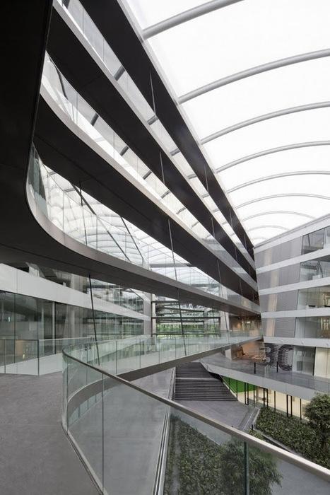 超讚的 Adidas 德國總部辦公室 – KINZO | KAIAK.TW | 城市美學的新態度 | 建築 | Scoop.it