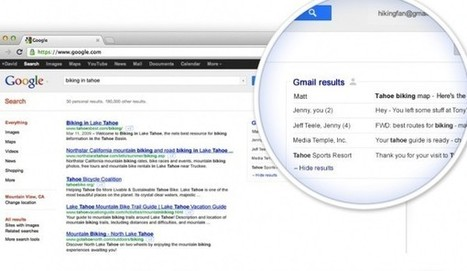 Google To Add Search Result From Your Gmail As Well!! - Teechworld | Teechworld | Tips & Tricks, Blogging, SEO, Android | Scoop.it