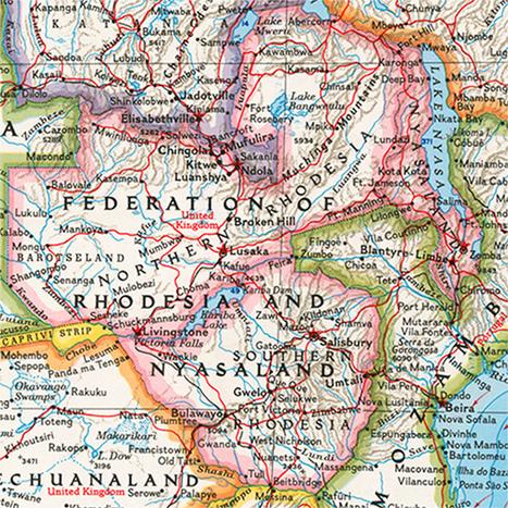 National Geographic Maps Show Big Changes Since First Atlas | National Geographic | Kiosque du monde : A la une | Scoop.it