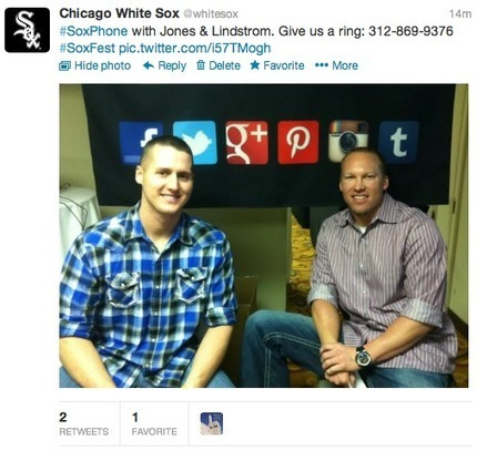 Digital Royalty and White Sox team up for SoxFest Fan Phone | Royal Social Media | Scoop.it