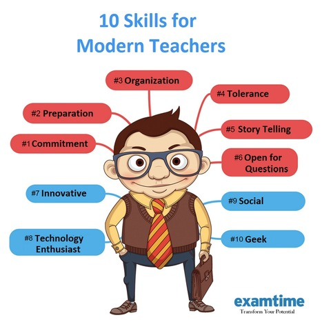The 10 Modern Teaching Skills | Reflections on Learning | Scoop.it