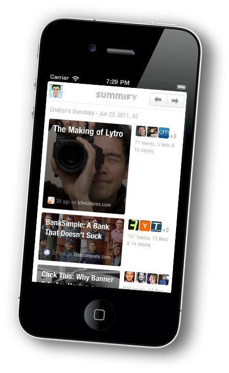 Summary of Your Social News Feeds - Summify | Curation Revolution | Scoop.it