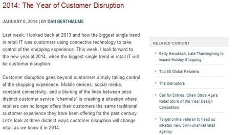Le renouveau de l'expérience client sera pour 2014 ! | Relation client BtoC | Scoop.it