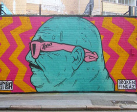 The Paradox of GIF-iti: Street Art You Can See Only Online | Socialart | Scoop.it