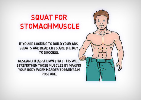 Squat for Stomach Muscle | Quotes Abouth Health | Scoop.it
