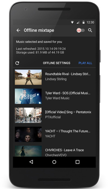 Forget Spotify or Apple Music. Youtube's New Music App Shows Who Has the Real Streaming Power | Share Some Love Today | Scoop.it