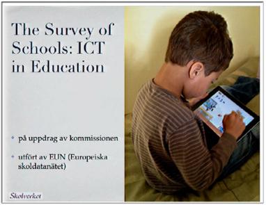 Omvärldsbloggen » Blog Archive » Statistik om it i skolan – i EU och i Sverige | lärresurser | Scoop.it