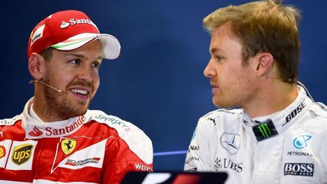 Vettel brushes off 2017 Rosberg-Ferrari rumours | F 1 | Scoop.it