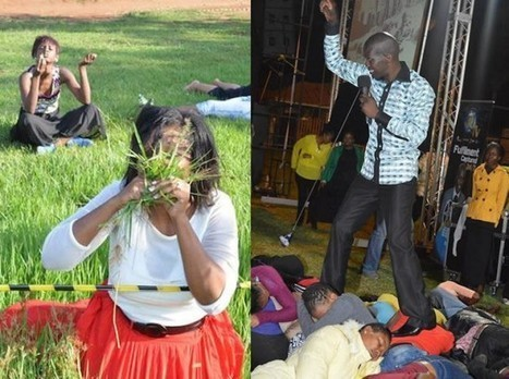 South African Pastor Tells Congregation to Eat Grass to Be Closer to God   Strange days indeed...   Scoop.it