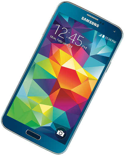 Electric Blue Samsung Galaxy S5 is finally coming to the US, will be ... | Samsung mobile | Scoop.it