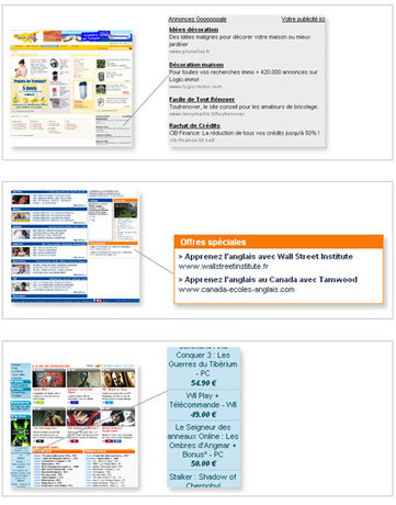 Publicité sur le web : que fait l'ergonomie ? - Ergolab | Quand la communication passe au web | Scoop.it