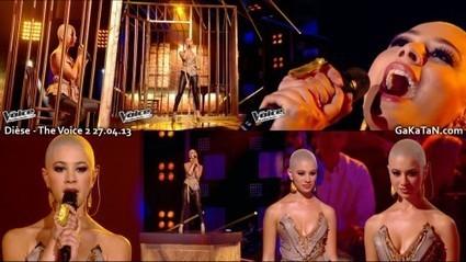 Photos : Diese sexy dans The Voice (27/04/13)   Radio Planète-Eléa   Scoop.it