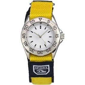Matsuda Athletic Watch Nylon Strap Yellow - Ladies | Top quality watches | Scoop.it