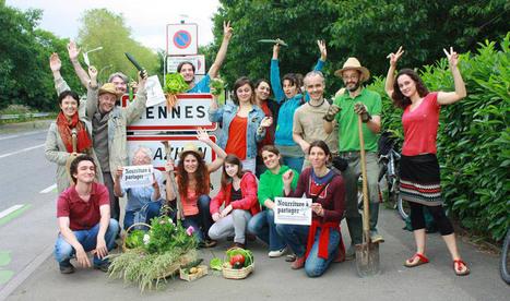 Incroyables Comestibles Rennes : l'abondance est le fruit du partage | Collaboration et développement durable des territoires | Scoop.it