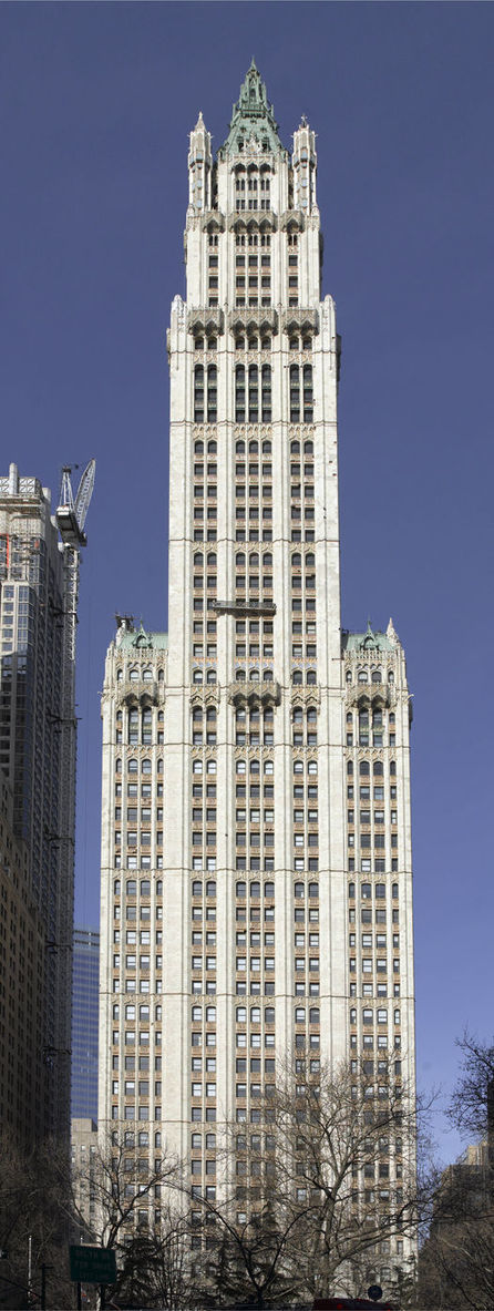 Cass Gilbert Society - Cass Gilbert - the Architect - Works - Woolworth Building, New York, NY   Being an Architect   Scoop.it