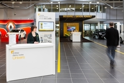 Renault s'appuie sur la formation pour améliorer la relation client | BTS NRC lycée Aorai | Scoop.it
