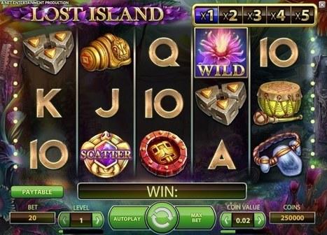 New Lost Island slot online | Online Slots | Scoop.it