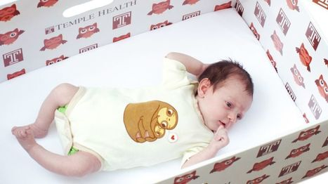 Why babies all over the world are now sleeping in boxes - BBC News | Geography & Current Events | Scoop.it