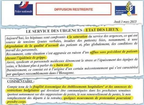 Hôpital: la mise en garde des renseignements généraux   Marketing & Hôpital   Scoop.it