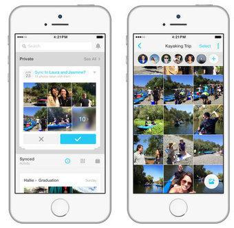 Moments : Facebook lance son application de partage de photos | Clic France | Scoop.it